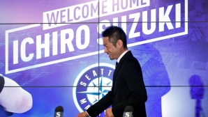 Добре дошъл вкъщи, Ичиро Сузуки! (видео)