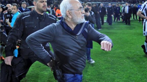 ФИФА осъди случилото се в Гърция