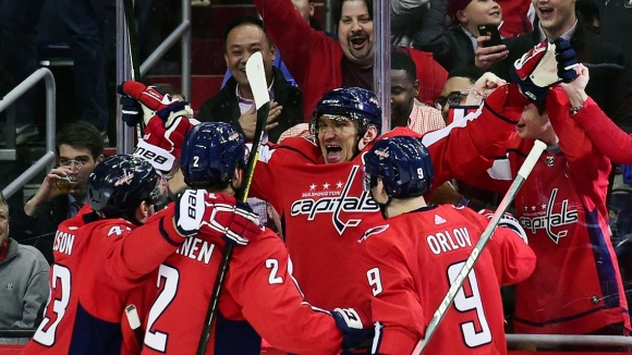 Овечкин стигна до 600 гола в НХЛ с две шайби и победа срещу Уинипег