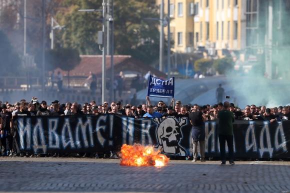Феновете на Левски без шествие в неделя