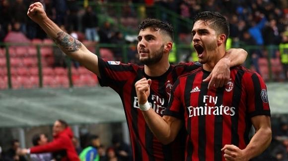 Португалец отново е герой за Милан