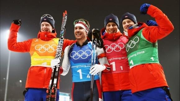 Мъжката щафета на Норвегия спечели старта от Световната купа