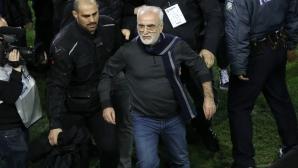 Правителството в Гърция спря първенството след вчерашния екшън