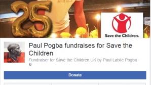 Ето как Пол Погба отпразнува 25-ия си рожден ден
