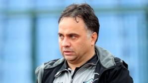 Николай Митов: Не съм доволен от първото полувреме