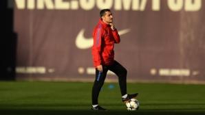 Валверде: Не забравяйте, че Рома победи Челси с 3:0