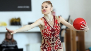 Злато и бронз за българските гимнастички в Киев