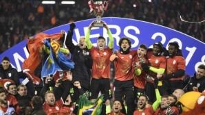 Драма във финала за Купата на Белгия (видео)