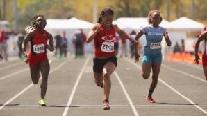 Нов световен рекорд на 100м за девойки (видео)