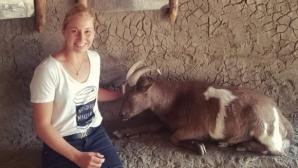 Кръстиха козел на Федерер