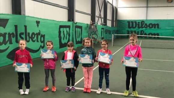 Иво Найденов и Рая Коцева спечелиха регионален турнир за деца до 8 години