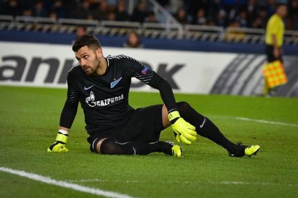 Вратарят на Зенит поиска оставката на Манчини
