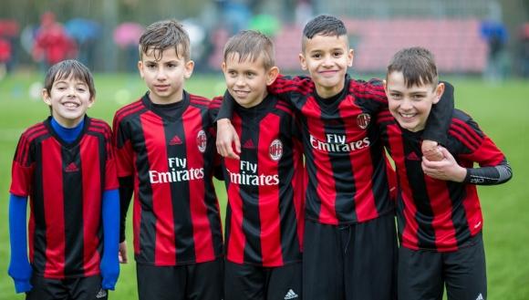 Милан хареса българско дете след Milan Junior Camp Day 2018
