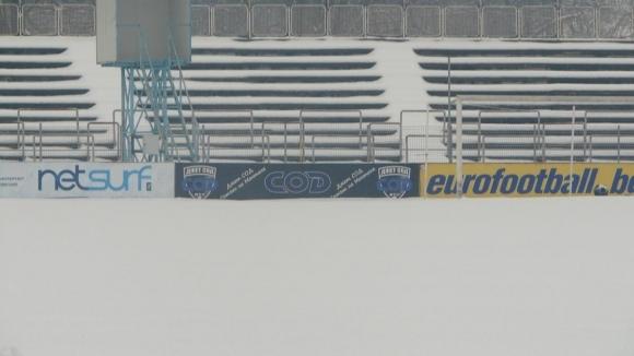 Отложиха мач на Монтана и срещите от цялата Северозападна Трета лига