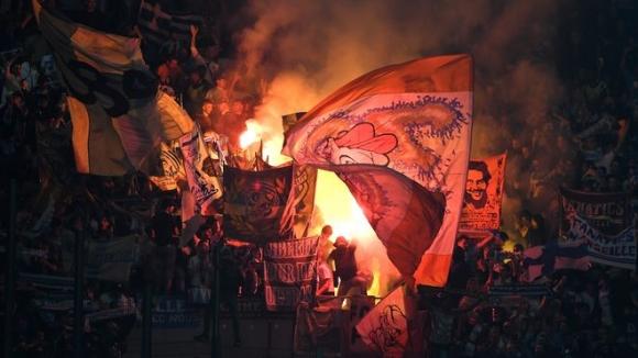 УЕФА наказа Олимпик (Марсилия) за два мача без фенове