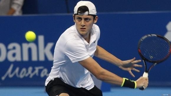 Александър Лазаров отпадна на полуфиналите на двойки в Хърватия