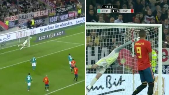 Де Хеа със страхотно спасяване, Дракслер го аплодира (видео)