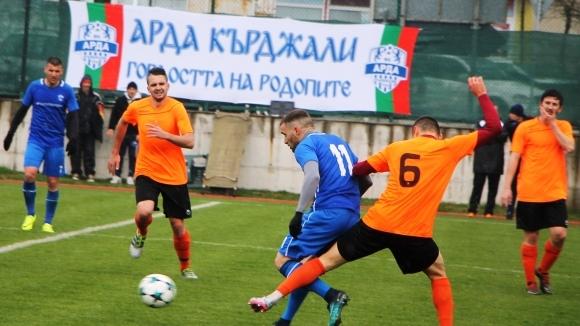 Чепилов герой, а Арда вече е във Втора лига след дербито на Югоизточната Трета лига (видео+снимки)