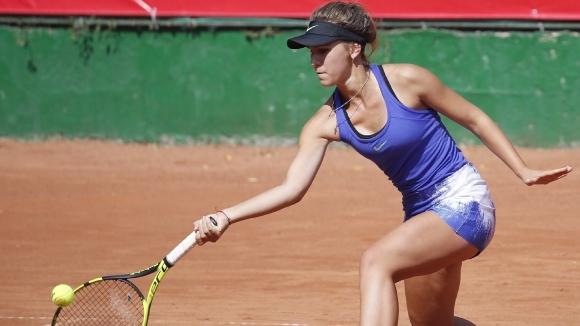 Гергана Топалова се завръща на корта
