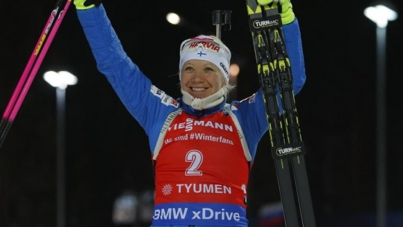 Кайса Мекерейнен с трета Световна купа в кариерата си