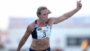 Карина Хорн гони бягане под 11 секунди на 100 м