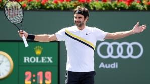 """Федерер рекламира второто издание на """"Лейвър къп"""" в Чикаго (видео)"""
