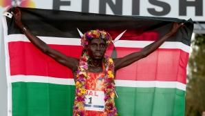 Световният рекордьор Кимето ще бяга на маратона на Виена