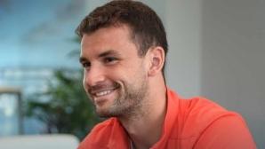 Григор Димитров е занижил очакванията си за турнира в Маями
