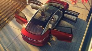 Volkswagen и лимузината на бъдещето: I.D. Vizzion