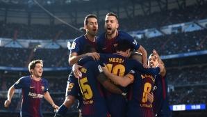 Каталунците потриват ръце за шпалир от Реал Мадрид