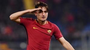 Новата звезда на Рома под въпрос за мачовете с Барселона