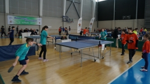 """Видни европейски гости и над 500 деца на турнира по тенис на маса в """"Арена Армеец"""""""