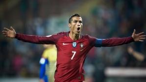 Какво направи, Кристиано? Роналдо сътвори паметен обрат с 2 гола след 90-ата минута