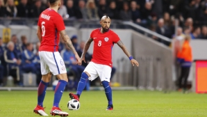 Чили повали Швеция в контрола