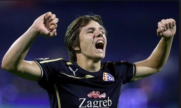Рома вади 12 млн. за младок от Динамо (Загреб)