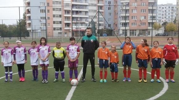 Олимпия (Шумен) ще участва в турнир по футбол за девойки до 12 години във Варна