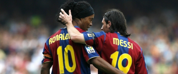 Роналдиньо за Меси: Знаех, че е по-добър от мен