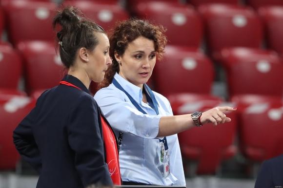 Мария Петрова: Радвам се, че мога да подкрепя нашите момичета