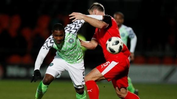 Сърбия наказа Нигерия в Лондон