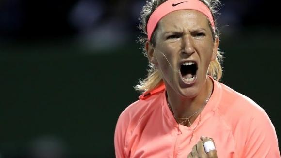 Трикратната шампионка Азаренка се класира за полуфиналите в Маями