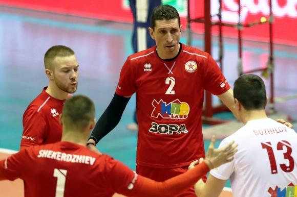 ЦСКА измъкна полуфинал №3 срещу Монтана (галерия)