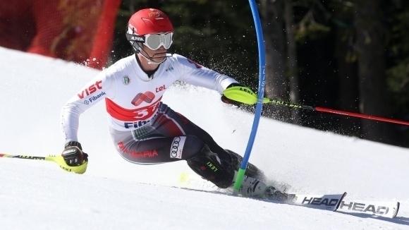 Камен Златков и Мария Киркова спечелиха титлите в гигантския слалом на откритото Държавно първенство