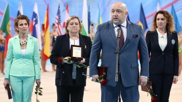 Министър Красен Кралев откри Световната купа по художествена гимнастика в София