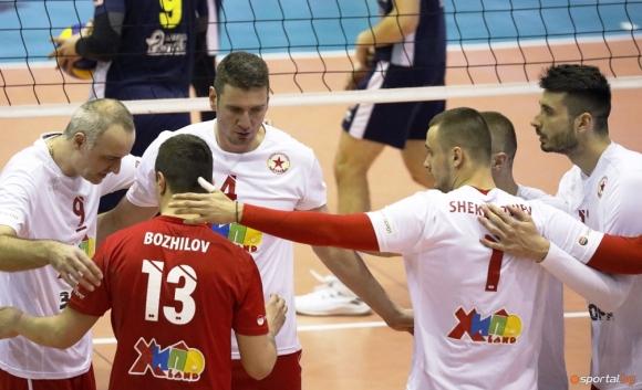 ЦСКА на финал след нова драма срещу Монтана (видео + галерия)