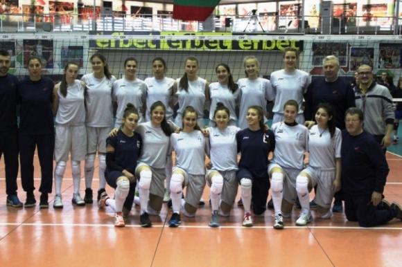 Девойките на България надиграха Румъния в контрола