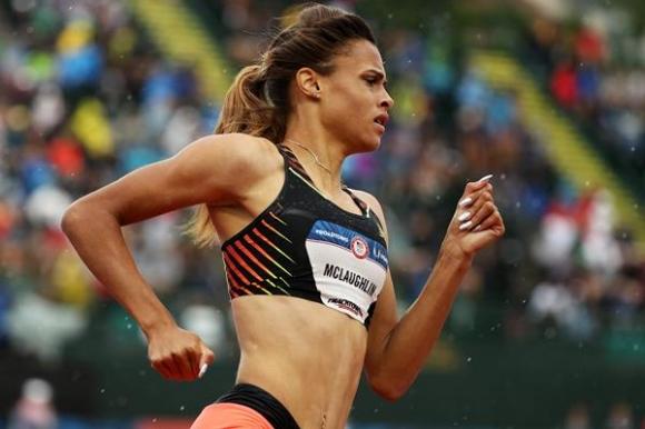 Сидни Маклафлин с много силни резултати на 200 и 400 метра