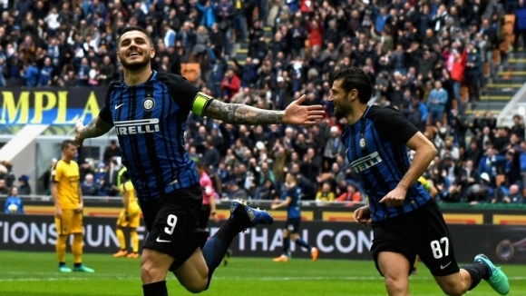 Икарди и Интер летят към ШЛ преди сблъсъка с Милан