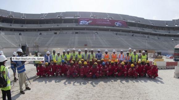 Организаторите на Катар 2022 гарантираха, че няма да има експлоатация на работници
