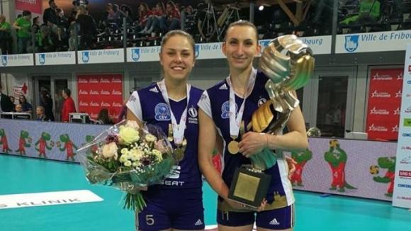 Българки спечелиха Купата на Швейцария