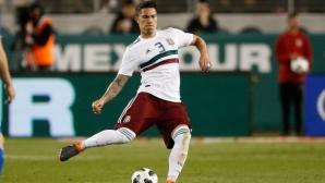 Айнтрахт губи мексикански национал до края на сезона